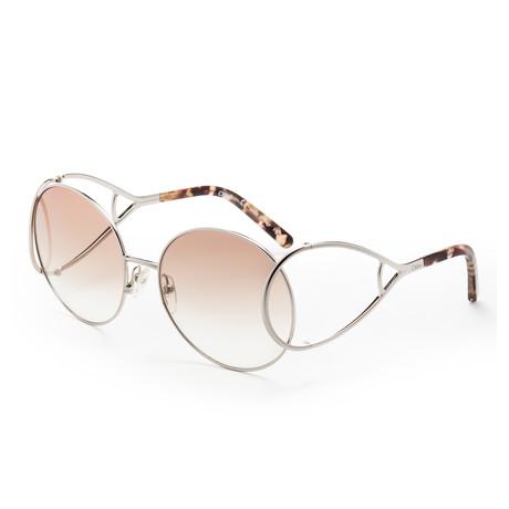 Chloe // Women's CE124 Sunglasses // Silver