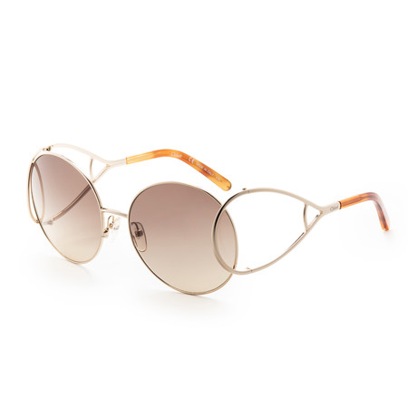 Chloe // Women's CE124 Sunglasses // Gold II