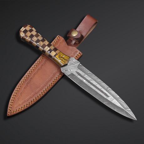 Damascus Dagger // 28