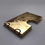 Metahl // Dia de Los Muertos // 24K Gold Plated