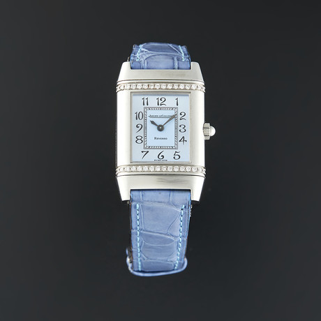 Jaeger-LeCoultre Ladies Reverso Florale Quartz // 265.8.08 // Pre-Owned