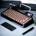 Retro Mechanical Keyboard (Black)