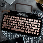 Retro Mechanical Keyboard (Black)