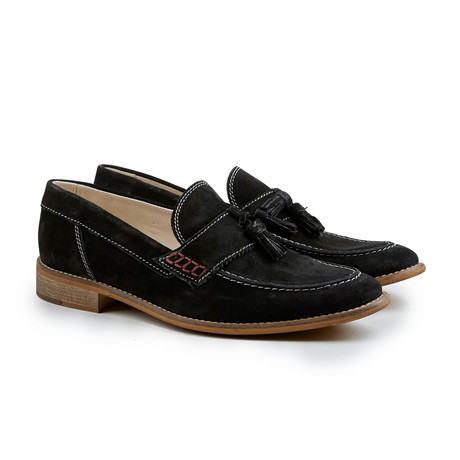 Proud Lee Tassel Loafer // Black (Euro: 41)