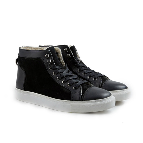 Too Day High-Top Sneaker // Black (Euro: 41)