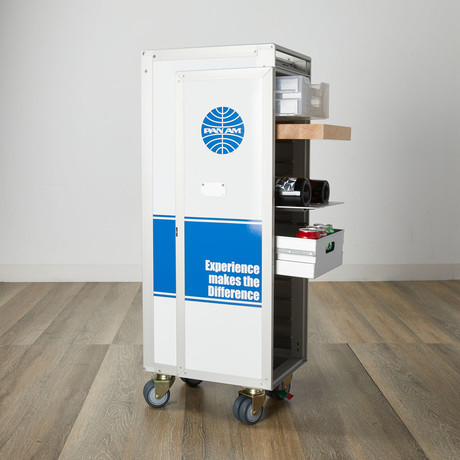 Sky Cart™ Your Airline Trolley // Pan Am Livery