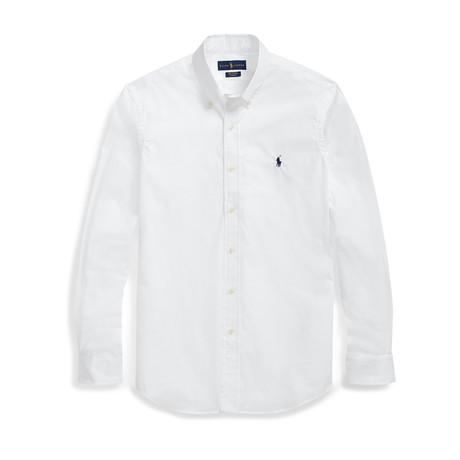 Poplin Shirt // White (S)