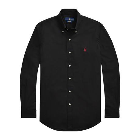 Poplin Shirt // Black (S)