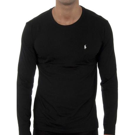Long Sleeves T-shirt // Black (S)