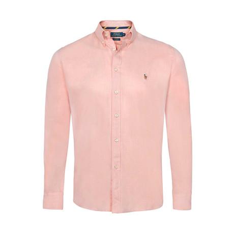 Slim Fit Shirt // Pink (S)