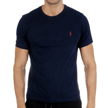 Crew Neck T-Shirt // Navy (S)