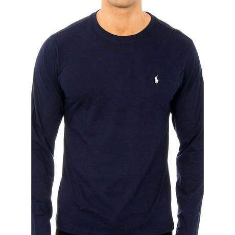 Long Sleeves T-shirt // Navy (S)