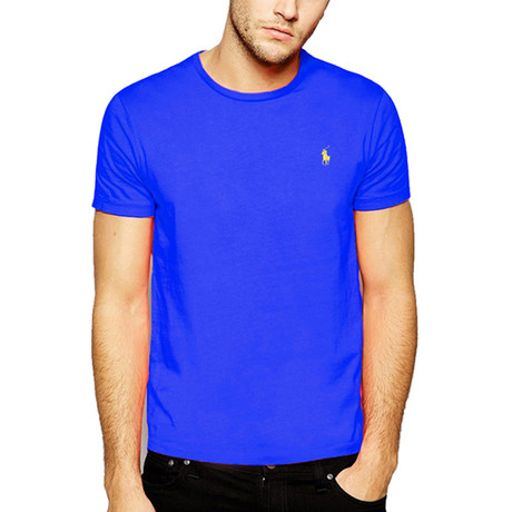 Crew Neck T-Shirt // Royal Blue (S)