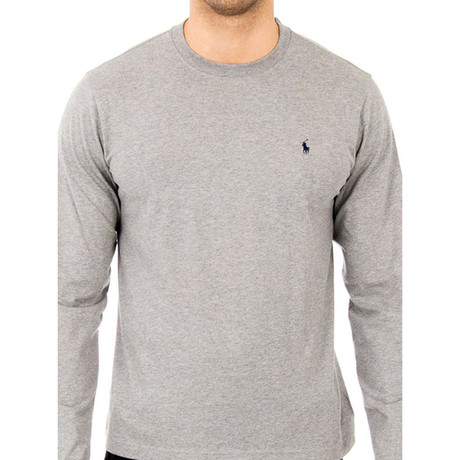 Long Sleeves T-shirt // Heather Gray (S)
