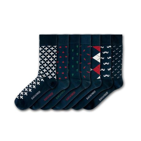 Nothe Gardens Socks // Set of 7