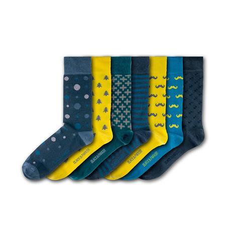 Victoria Gardens Socks // Set of 7