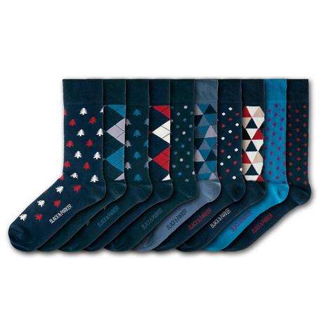 Westonbirt Arboretum Socks // Set of 10