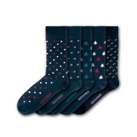 Dunge Valley Hidden Garden Socks // Set of 5