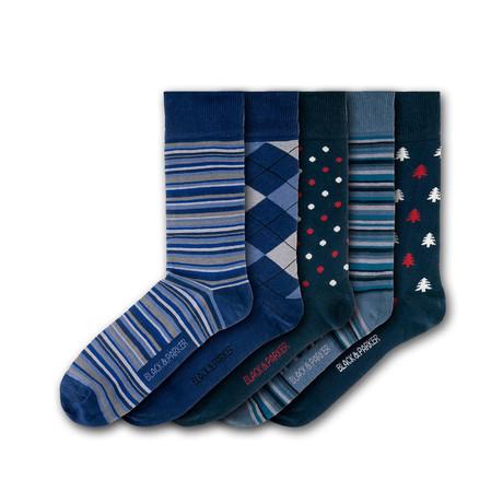 Knightshayes Socks // Set of 5