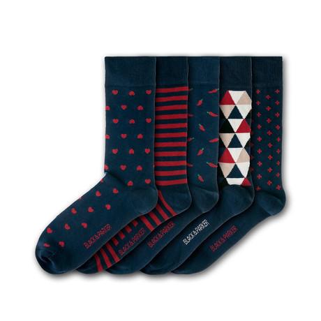 Bennetts Water Gardens Socks // Set of 5