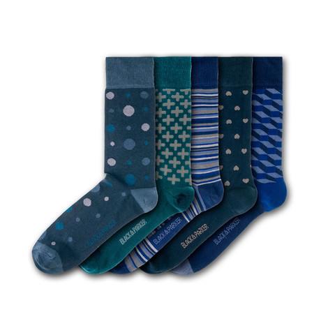 Tapeley Park Gardens Socks // Set of 5