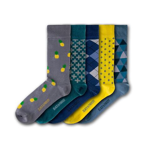 Winsford Walled Garden Socks // Set of 5