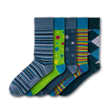 Compton Acres Socks // Set of 5