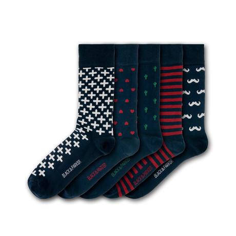 Marwood Hill Socks // Set of 5