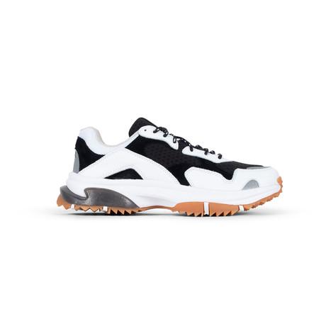 Prospect Park Sneaker // White + Black (US: 7.5)