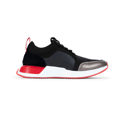 Madison 2.0 Sneaker // Black + Red (US: 7.5)