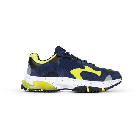 Prospect Park Sneaker // Blue + Yellow (US: 7.5)