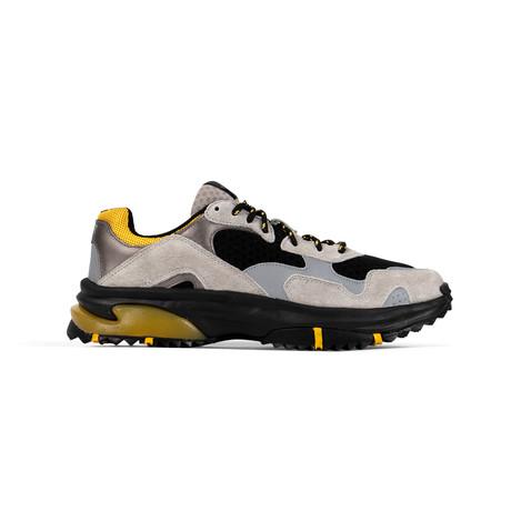 Prospect Park Sneaker // Gray + Black + Yellow (US: 7.5)