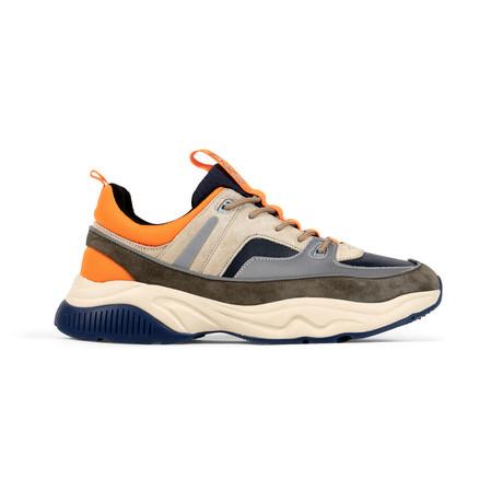 Victory Sneaker // Olive + Tan + Navy (US: 7.5)