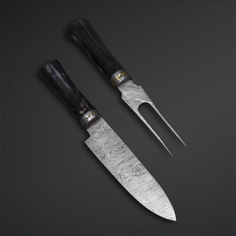 Chef Knife + Fork // 02