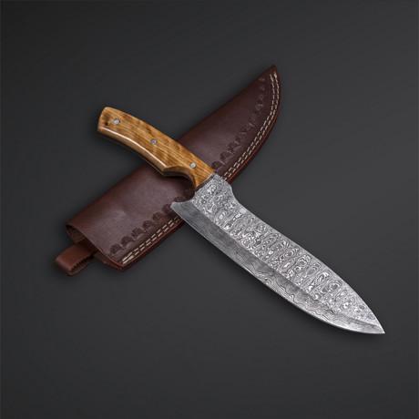 Damascus Chef knife // 05