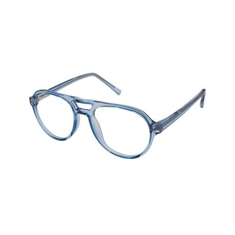 Saul Blue-Light Blocking Readers // Blue (0.00x)