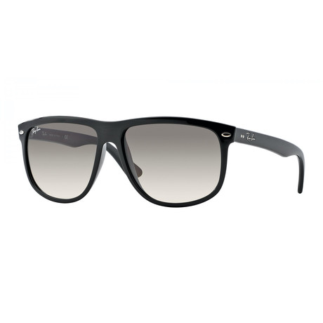 Unisex Boyfriend Sunglasses // Black + Gray Gradient