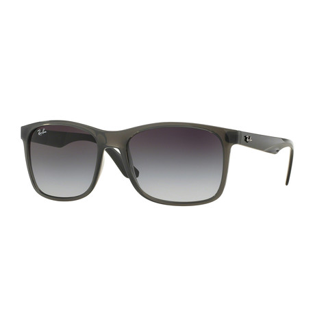 Unisex Square Sunglasses // Gray + Gray Gradient