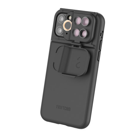 ShiftCam 2.0: 5-in-1 Travel Set // Black (iPhone 11 Pro)
