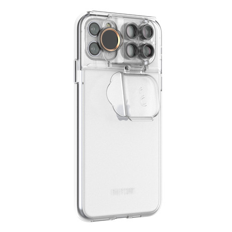 ShiftCam 2.0: 5-in-1 Travel Set // Transparent (iPhone 11 Pro)