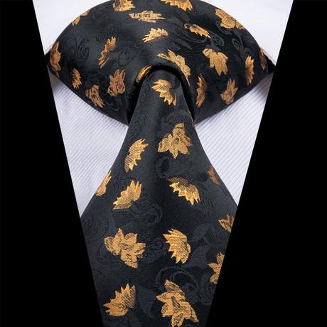 Ranger Tie // Black + Gold