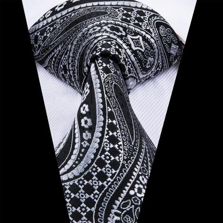 Purves Tie // Black + White