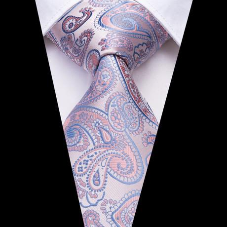 Kross Tie // Light Pink + Light Blue