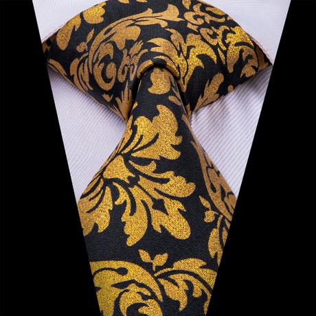 Karcsi Tie // Gold + Black