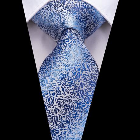 Porter Handmade Silk Tie // Blue