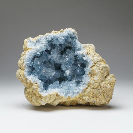 Natural Blue Celestite Cluster // v.1