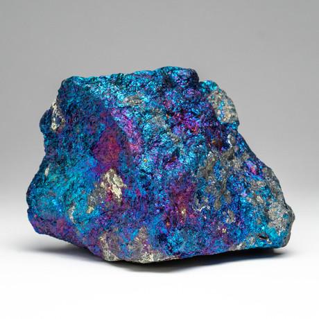 Chalcopyrite Gemstone Peacock Ore // v.1