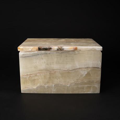 Large // Natural Onyx Box // Rectangle