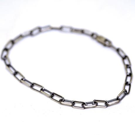 Long Links Bracelet (Brushed)
