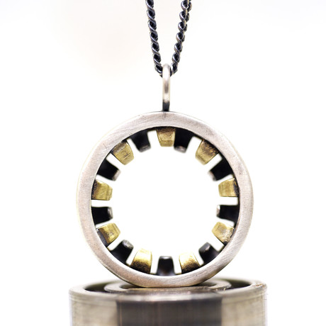 """Deep Groove Necklace // Brushed (18"""")"""